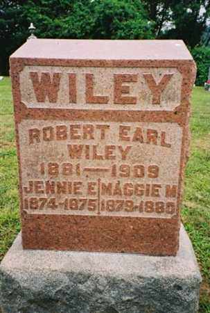WILEY, JENNIE - Meigs County, Ohio | JENNIE WILEY - Ohio Gravestone Photos