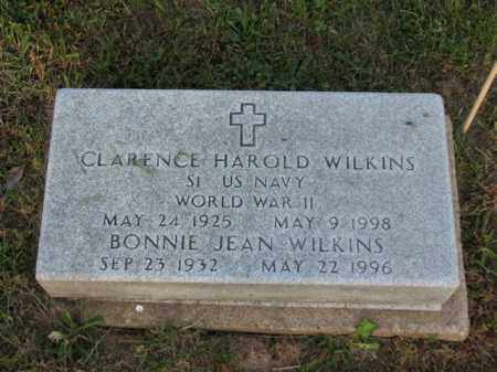 WILKINS, BONNIE JEAN - Meigs County, Ohio | BONNIE JEAN WILKINS - Ohio Gravestone Photos