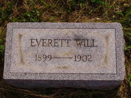 WILL, EVERETT - Meigs County, Ohio   EVERETT WILL - Ohio Gravestone Photos