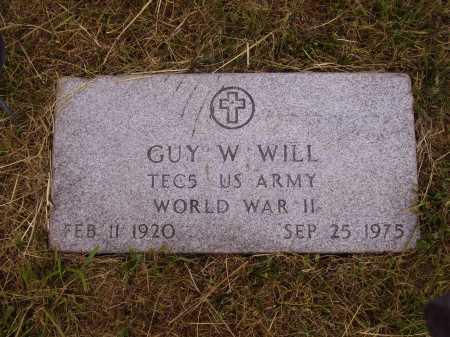 WILL, GUY W. - Meigs County, Ohio | GUY W. WILL - Ohio Gravestone Photos