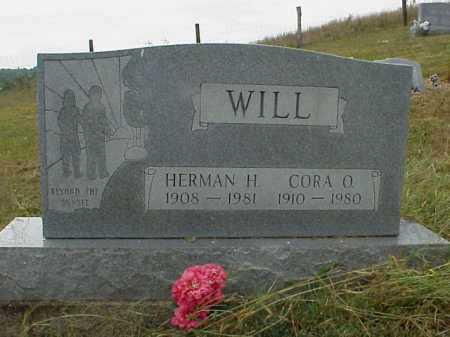 WILL, CORA O. - Meigs County, Ohio   CORA O. WILL - Ohio Gravestone Photos