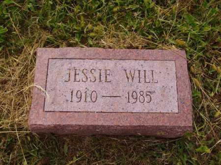 WILL, JESSIE - Meigs County, Ohio | JESSIE WILL - Ohio Gravestone Photos