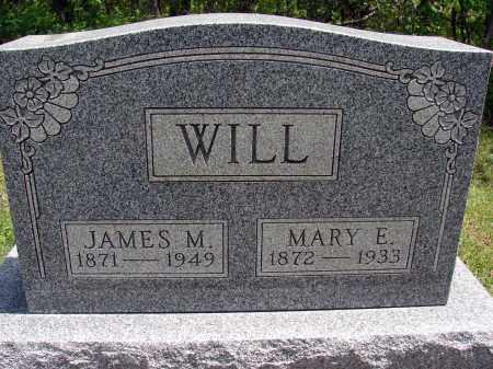 WILL, JAMES M - Meigs County, Ohio   JAMES M WILL - Ohio Gravestone Photos