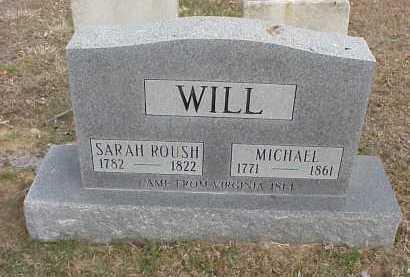 ROUSH WILL, SARAH - Meigs County, Ohio | SARAH ROUSH WILL - Ohio Gravestone Photos