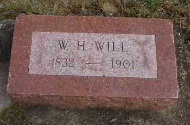 WILL, W.H. - Meigs County, Ohio   W.H. WILL - Ohio Gravestone Photos