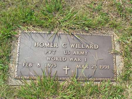 WILLARD, HOMER C. - Meigs County, Ohio | HOMER C. WILLARD - Ohio Gravestone Photos