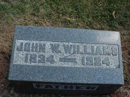 WILLIAMS, JOHN W. - Meigs County, Ohio   JOHN W. WILLIAMS - Ohio Gravestone Photos