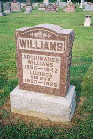 WILLIAMS, LUCINDA - Meigs County, Ohio | LUCINDA WILLIAMS - Ohio Gravestone Photos