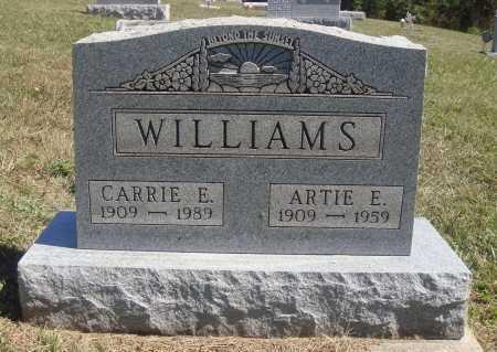 WILLIAMS, ARTIE E. - Meigs County, Ohio | ARTIE E. WILLIAMS - Ohio Gravestone Photos