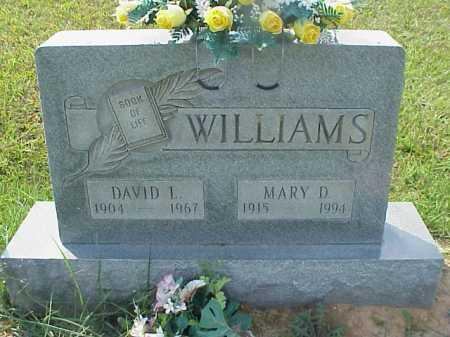 WILLIAMS, MARY D. - Meigs County, Ohio | MARY D. WILLIAMS - Ohio Gravestone Photos