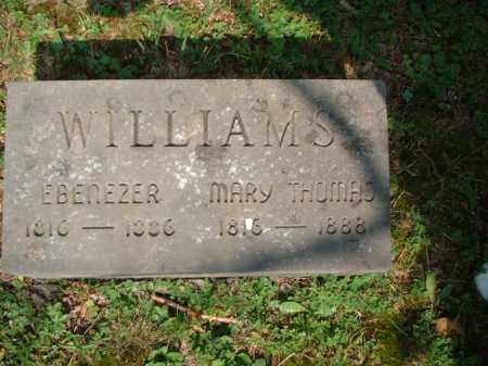 WILLIAMS, EBENEZER - Meigs County, Ohio | EBENEZER WILLIAMS - Ohio Gravestone Photos