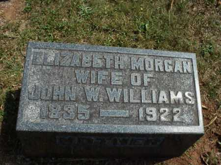 WILLIAMS, ELIZABETH - Meigs County, Ohio | ELIZABETH WILLIAMS - Ohio Gravestone Photos