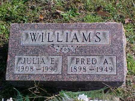 WILLIAMS, FRED A. - Meigs County, Ohio   FRED A. WILLIAMS - Ohio Gravestone Photos