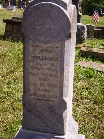 WILLIAMS, JOHN - Meigs County, Ohio | JOHN WILLIAMS - Ohio Gravestone Photos