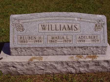 WILLIAMS, ADELBERT - Meigs County, Ohio | ADELBERT WILLIAMS - Ohio Gravestone Photos