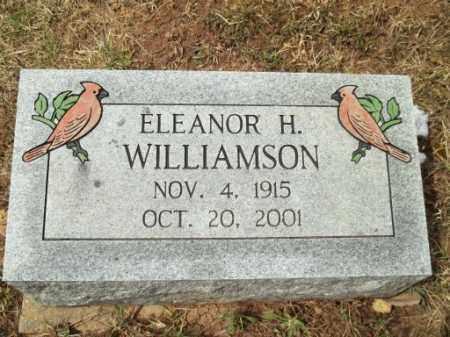 HILL WILLIAMSON, ELEANOR - Meigs County, Ohio | ELEANOR HILL WILLIAMSON - Ohio Gravestone Photos