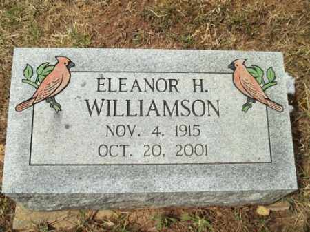 WILLIAMSON, ELEANOR - Meigs County, Ohio   ELEANOR WILLIAMSON - Ohio Gravestone Photos