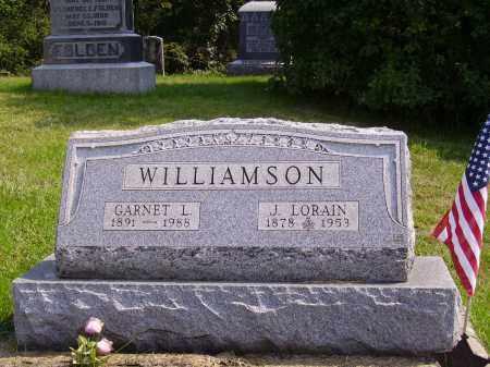 WILLIAMSON, J. LORAIN - Meigs County, Ohio   J. LORAIN WILLIAMSON - Ohio Gravestone Photos