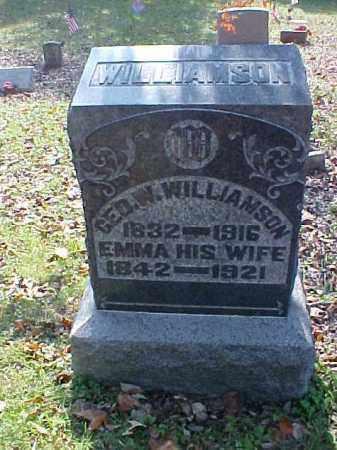 WILLIAMSON, GEORGE W. - Meigs County, Ohio | GEORGE W. WILLIAMSON - Ohio Gravestone Photos