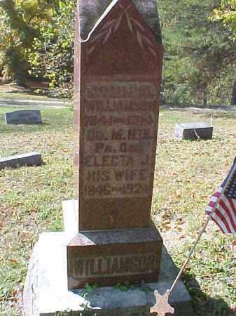 WILLIAMSON, JOHN M. - Meigs County, Ohio | JOHN M. WILLIAMSON - Ohio Gravestone Photos