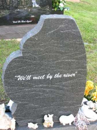 WILSON   BACK SIDE OF STONE, JOHN JR. - Meigs County, Ohio | JOHN JR. WILSON   BACK SIDE OF STONE - Ohio Gravestone Photos