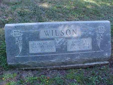 WILSON, BLANCHE O. - Meigs County, Ohio | BLANCHE O. WILSON - Ohio Gravestone Photos