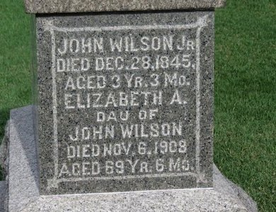 WILSON, ELIZABETH A. - Meigs County, Ohio   ELIZABETH A. WILSON - Ohio Gravestone Photos