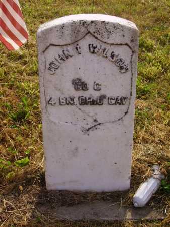 WILSON, JOHN THOMAS - Meigs County, Ohio | JOHN THOMAS WILSON - Ohio Gravestone Photos