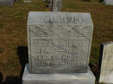 WILSON, HANNAH - Meigs County, Ohio | HANNAH WILSON - Ohio Gravestone Photos