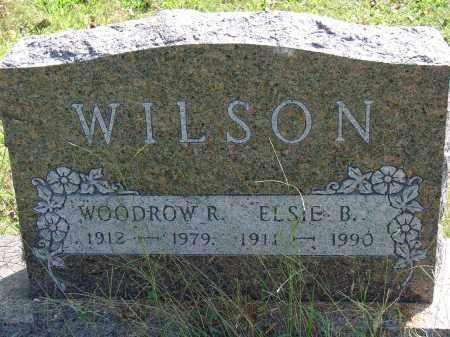 WILSON, ELSIE B - Meigs County, Ohio | ELSIE B WILSON - Ohio Gravestone Photos