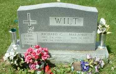 WILT, RICHARD C. - Meigs County, Ohio   RICHARD C. WILT - Ohio Gravestone Photos