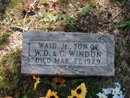 WINDON, WAID JR. - Meigs County, Ohio | WAID JR. WINDON - Ohio Gravestone Photos