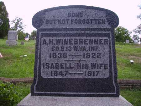 BOWLES WINEBRENNER, ISABELL - Meigs County, Ohio | ISABELL BOWLES WINEBRENNER - Ohio Gravestone Photos
