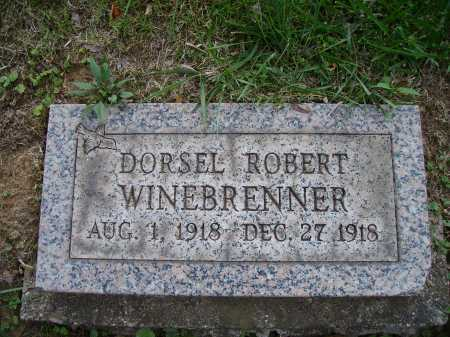 WINEBRENNER, DORSEL ROBERT - Meigs County, Ohio | DORSEL ROBERT WINEBRENNER - Ohio Gravestone Photos