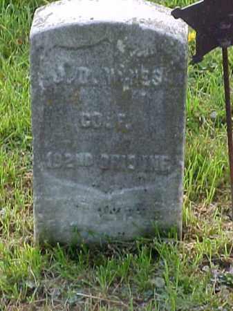 WINES, J. D. - Meigs County, Ohio | J. D. WINES - Ohio Gravestone Photos