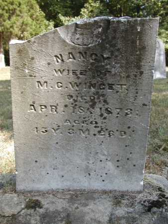 WINGET, NANCY - Meigs County, Ohio | NANCY WINGET - Ohio Gravestone Photos
