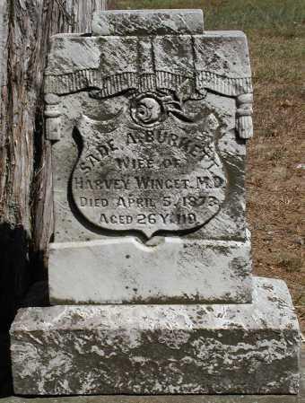 WINGET, SADE A. - Meigs County, Ohio | SADE A. WINGET - Ohio Gravestone Photos
