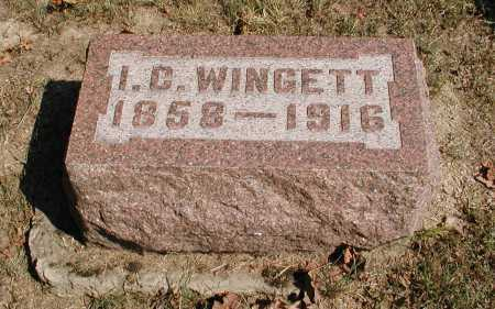 WINGETT, ISAAC CARTLEDGE - Meigs County, Ohio | ISAAC CARTLEDGE WINGETT - Ohio Gravestone Photos