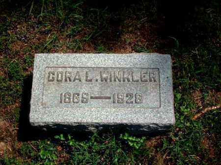 WINKLER, CORA L. - Meigs County, Ohio | CORA L. WINKLER - Ohio Gravestone Photos