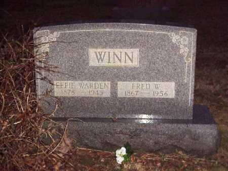 WARDEN WINN, EFFIE - Meigs County, Ohio   EFFIE WARDEN WINN - Ohio Gravestone Photos