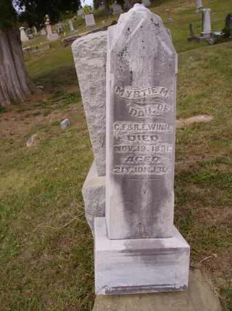 WINN, MYRTIE M. - OVERALL VIEW - Meigs County, Ohio | MYRTIE M. - OVERALL VIEW WINN - Ohio Gravestone Photos