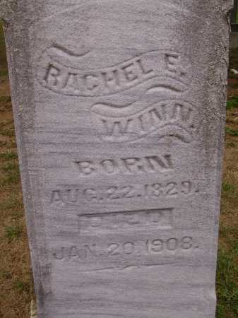 WINN, RACHEL E. - Meigs County, Ohio   RACHEL E. WINN - Ohio Gravestone Photos