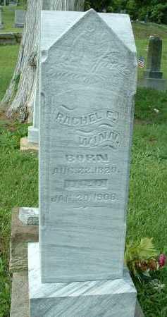 WINN, RACHEL - Meigs County, Ohio | RACHEL WINN - Ohio Gravestone Photos