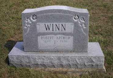 WINN, ROBERT ARTHUR - Meigs County, Ohio | ROBERT ARTHUR WINN - Ohio Gravestone Photos