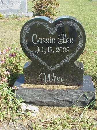 WISE, CASSIE L. - Meigs County, Ohio   CASSIE L. WISE - Ohio Gravestone Photos