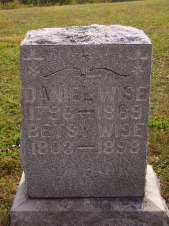 WISE, BETSY - Meigs County, Ohio | BETSY WISE - Ohio Gravestone Photos