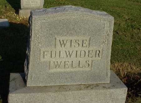 WELLS, FULWIDER, WISE, MONUMENT - Meigs County, Ohio | MONUMENT WELLS, FULWIDER, WISE - Ohio Gravestone Photos