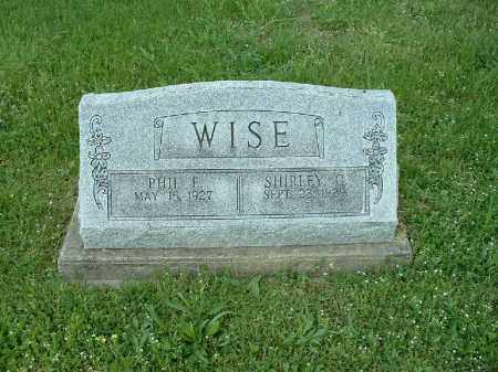 WISE, PHIL E. - Meigs County, Ohio | PHIL E. WISE - Ohio Gravestone Photos