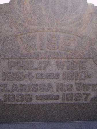 WISE, CLARISSA - CLOSEVIEW - Meigs County, Ohio | CLARISSA - CLOSEVIEW WISE - Ohio Gravestone Photos