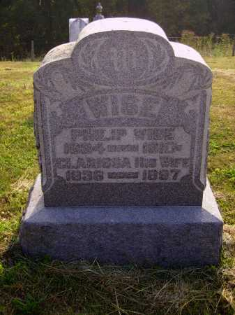 BISSELL WISE, CLARISSA - MONUMENT - Meigs County, Ohio | CLARISSA - MONUMENT BISSELL WISE - Ohio Gravestone Photos
